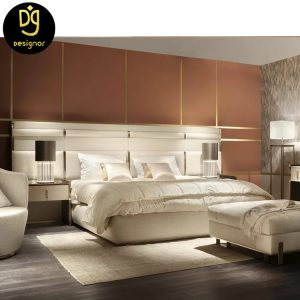 Custom made luxury bed