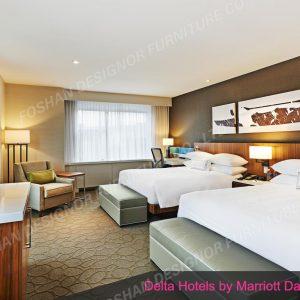 Custom made hotel furniture set