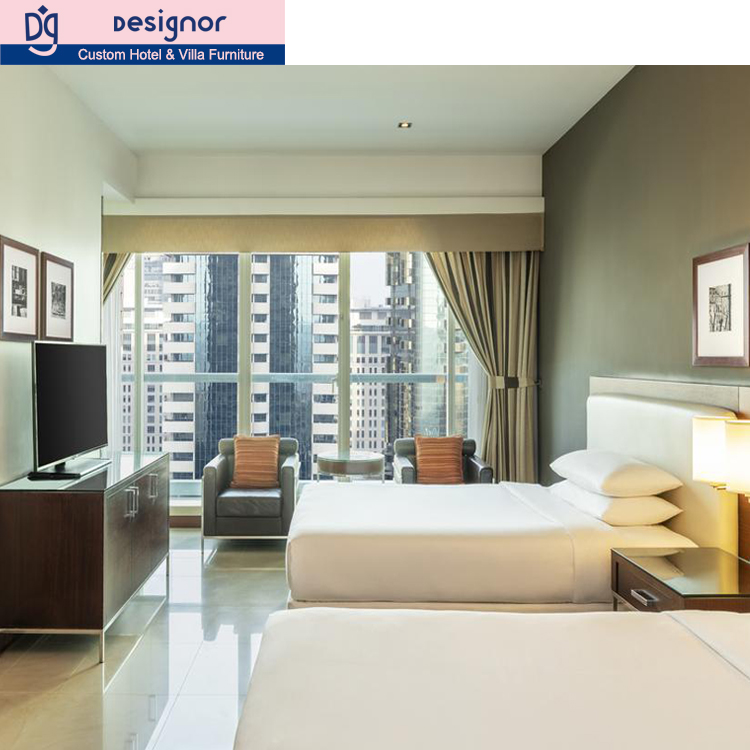 Modern hotel bedroom furniture set