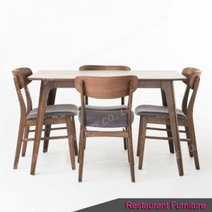Custom made restaurant furniture set
