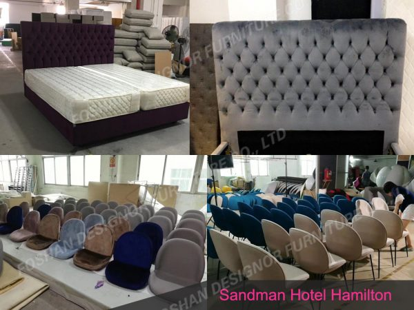 Custom made hotel furniture set