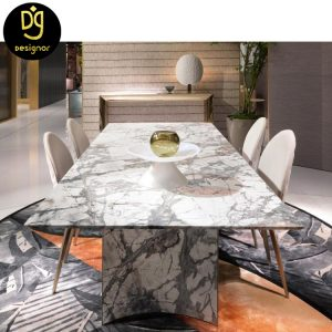 Manufacturer custom made luxury dining chair and table set
