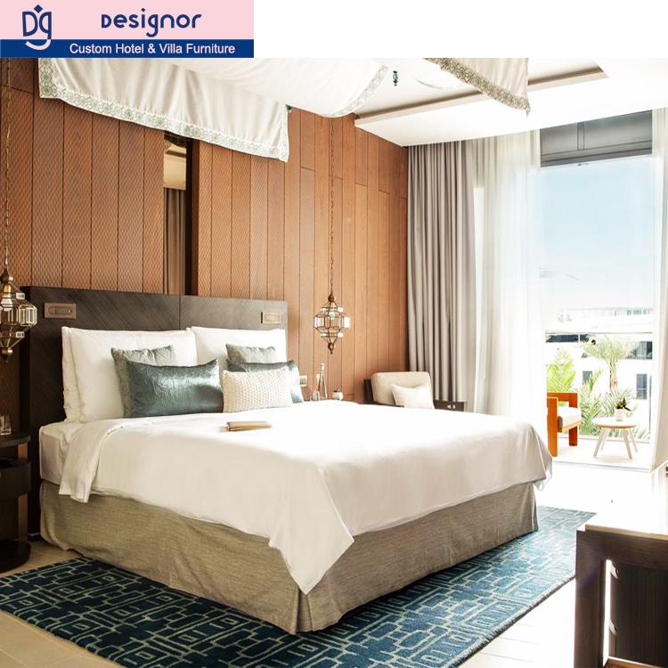 costom made hotel bedroom furniture set