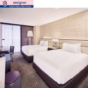 Factory custom made hotel furniture set