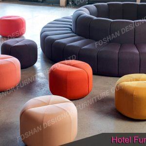 custom hotel furniture lobby sofa set