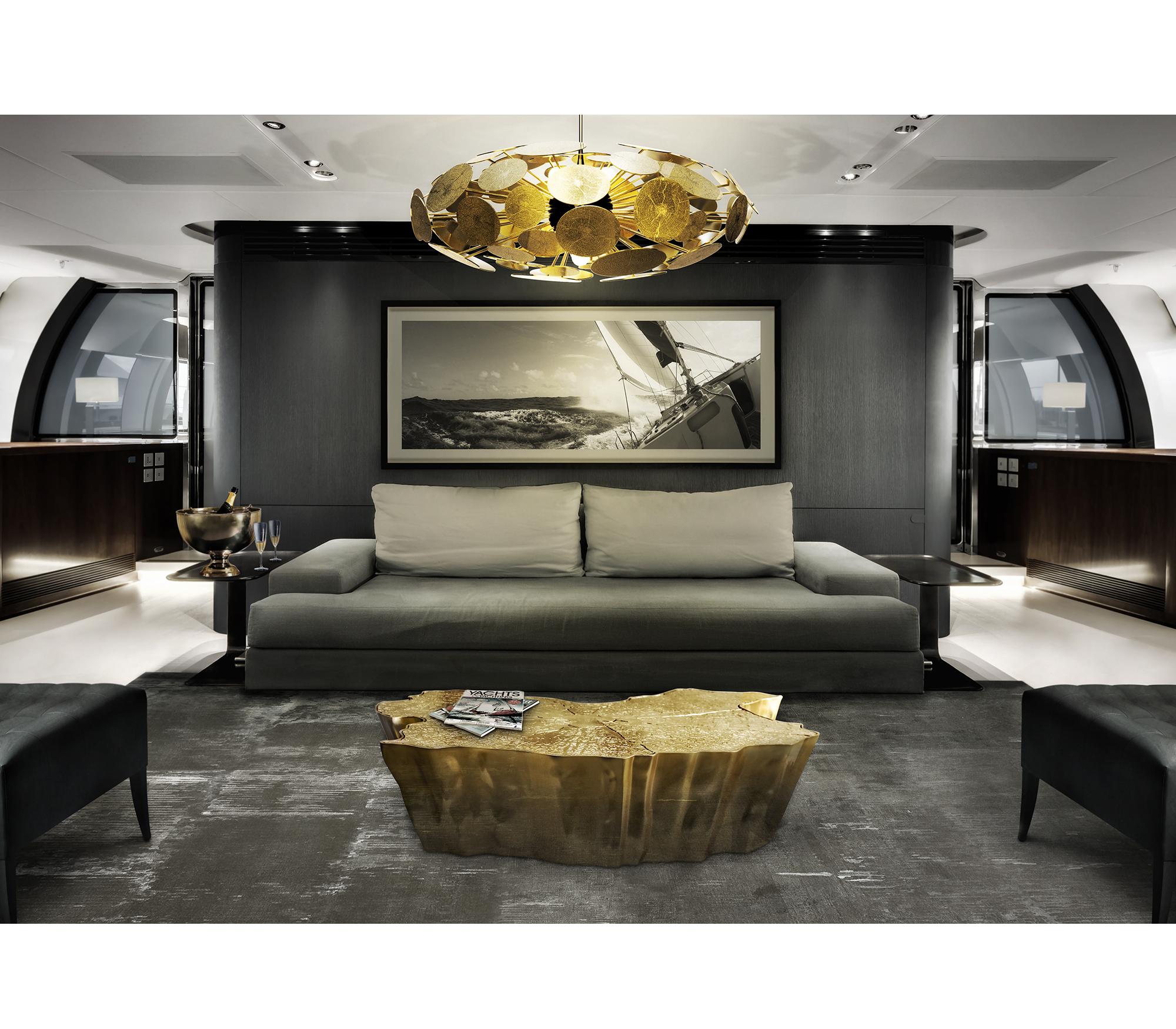 custom made luxury center table