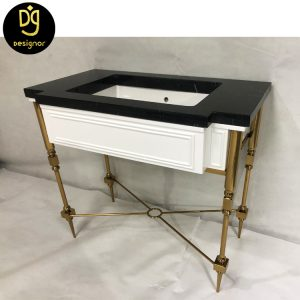 Custom made wellness room furniture luxury washstand