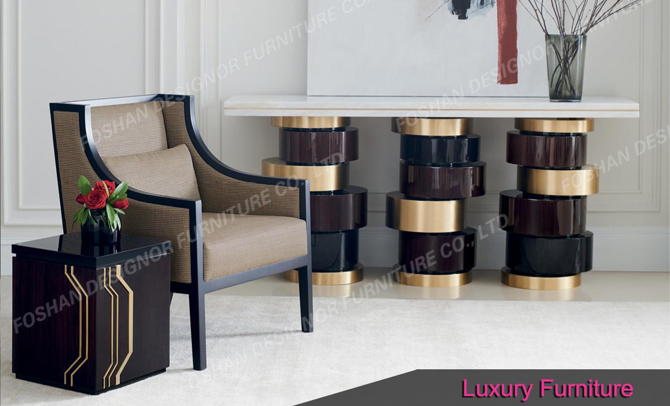 Custom made luxury villa furniture